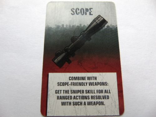 survivor equipment card (scope)